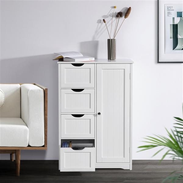 25+ White bathroom floor cabinet with drawers custom