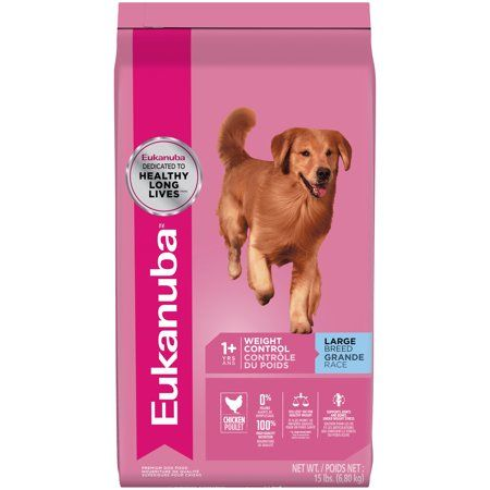 Eukanuba Adult Large Breed Weight Control Dry Dog Food 15 Lb