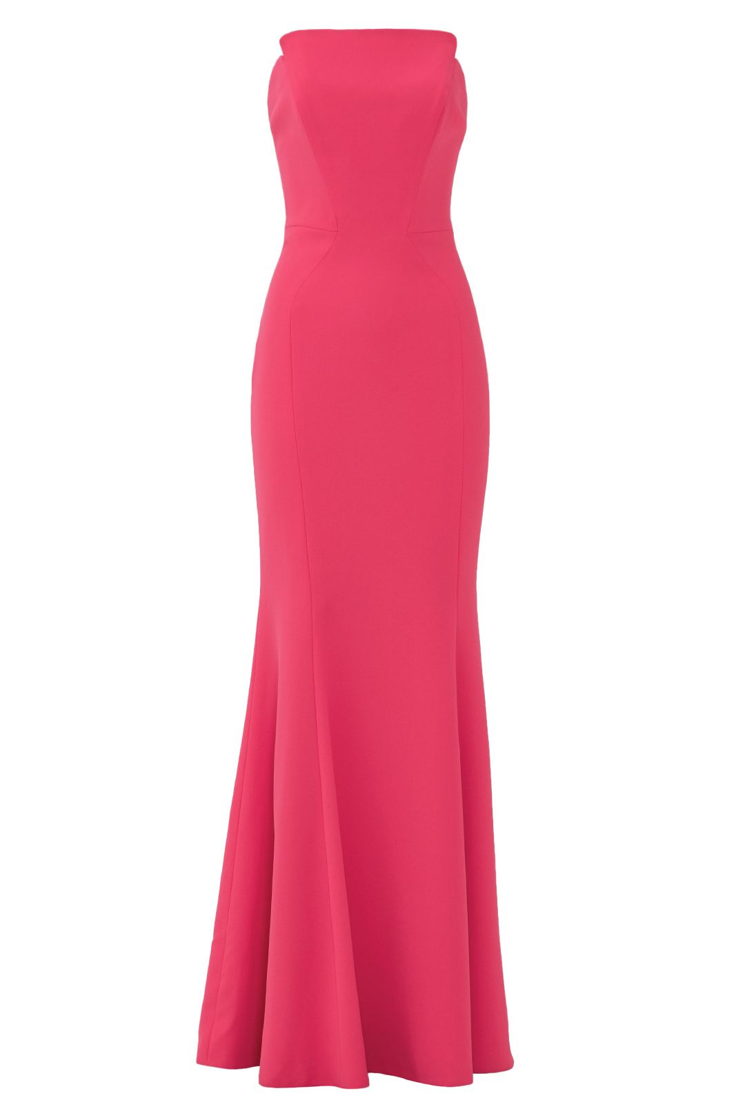 Peony strapless gown strapless gown