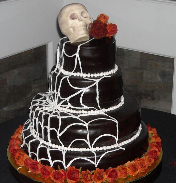 Halloween Wedding Cakes | Halloween-themed Wedding Cake ...