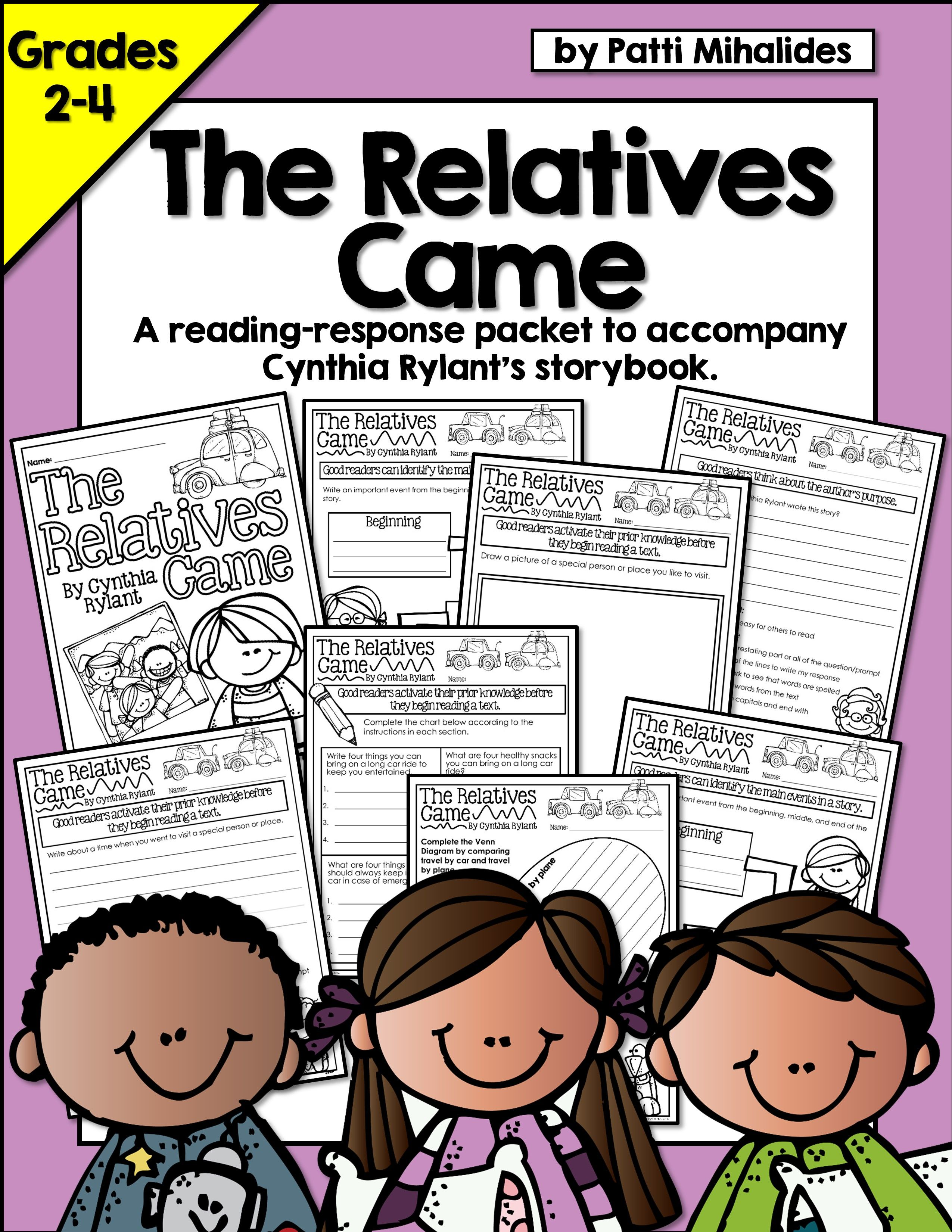 The Relatives Came By Cynthia Rylant Reading Response