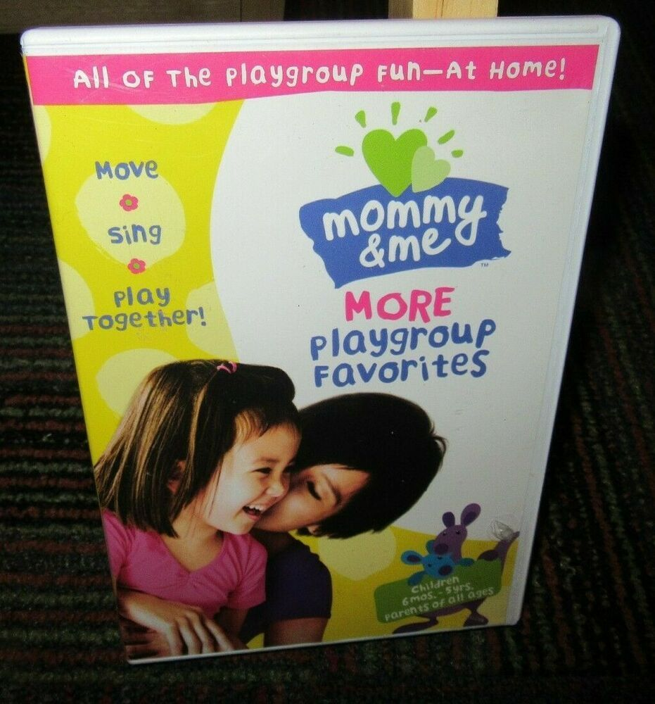Mommy Me More Playgroup Favorites Fun At Home Dvd Move Sing