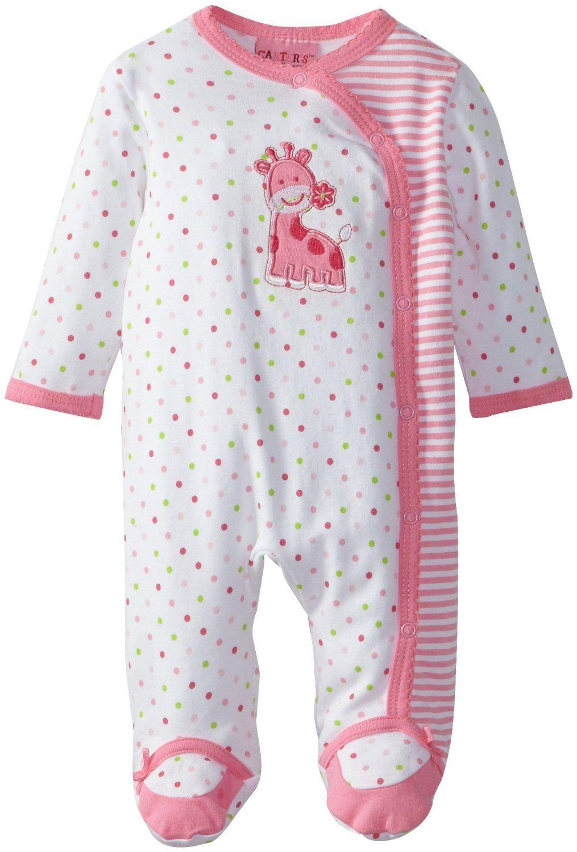 39b17c6c Amazon.com: Carter's Watch the Wear Baby-Girls Newborn Lovely Giraffe  Coverall: Clothing $9