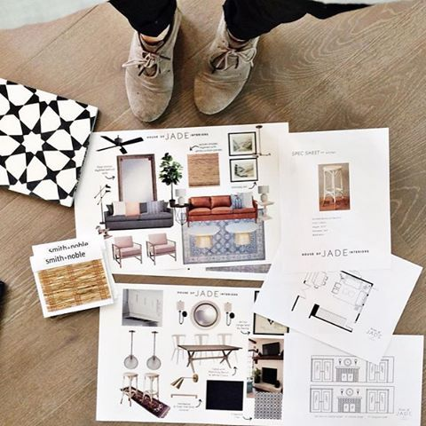 How to present a design board to your interior design for Home interior products
