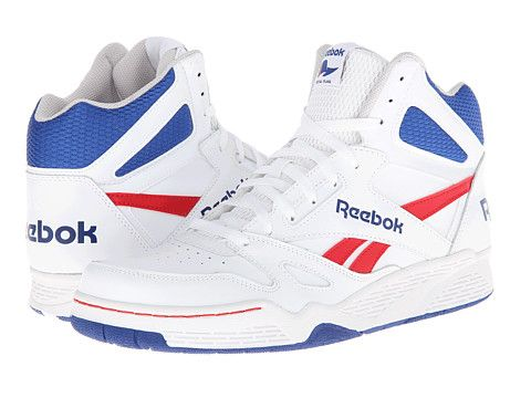picture of Reebok Royal BB4500 HI M42662 Men s Basketball Shoes  White Steel Dark Royal Red (12) a4e839b52