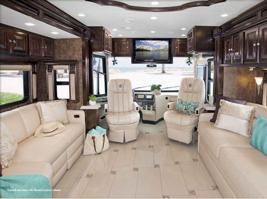 28 Incredible Rv Camping Interior Design For Cozy Summer Holiday