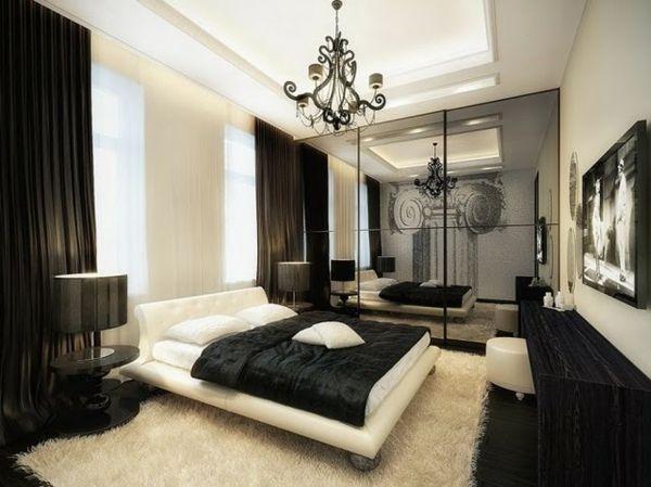 Déco Intérieur Design: La Chambre Coucher Rétro Moderne
