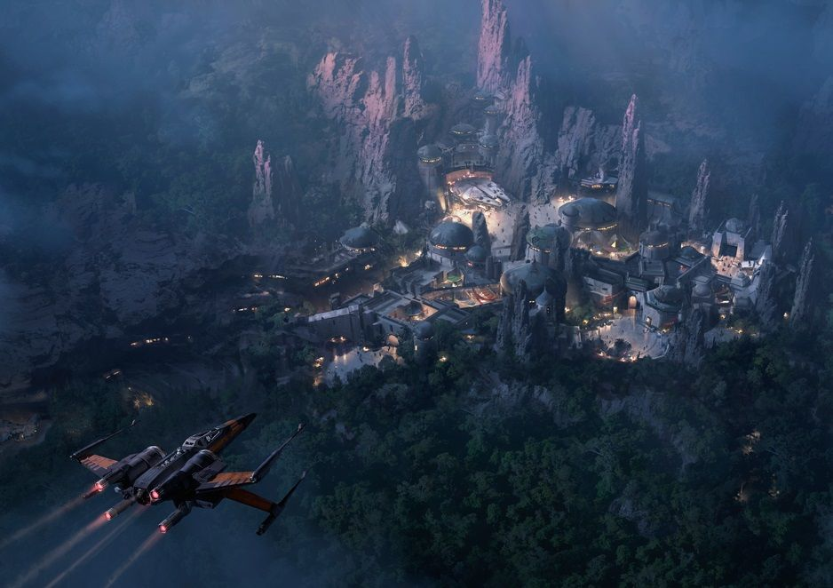 Star Wars Land Walt Disney World
