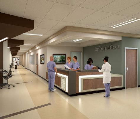 Parkland Hospital  Hdr Inc Note Flooring  Chambre