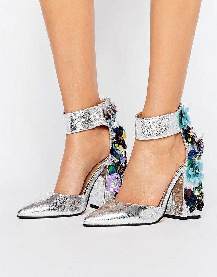 183167aae6e9 Asos POPSTAR Embellished Heels