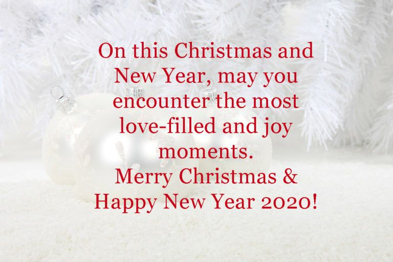 Merry Christmas 2020 Wishes Images Newyear2020 Merry Christmas And Happy New Year Happy New Year 2020 Happy New Year Wishes