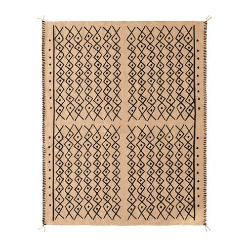 IKEA   JASSA, Rug, Flatwoven, Jute Is A Durable And Recyclable Material With