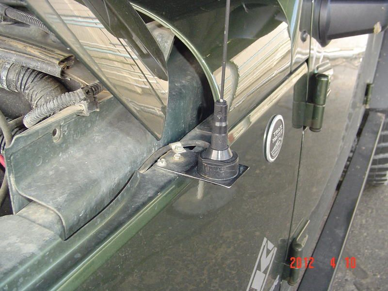 Here Is Where You Should Mount Your Cb And Ham Antennas On Your Jeep Page 25