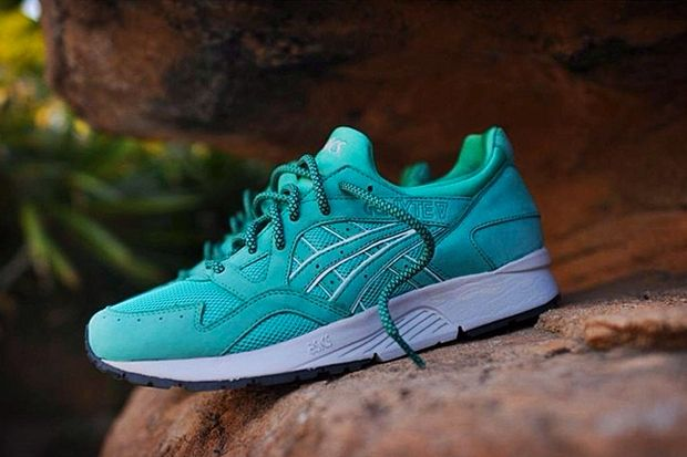 Ronnie Fieg X Asics Gel Lyte V Mint Leaf Preview Asics Gel