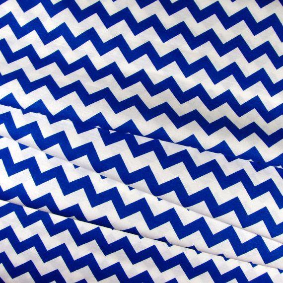 Comfortable Royal Blue Chevron Fabric Contemporary - Bathtub for ...