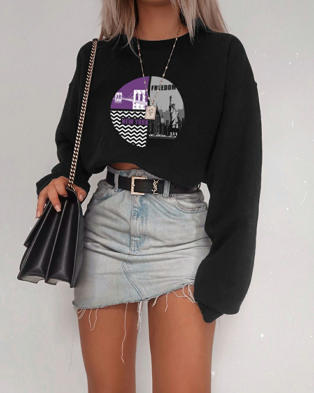 Photo of Black Sweatshirt New York Fashion Week #teedesign Ready for the New York Fashion…