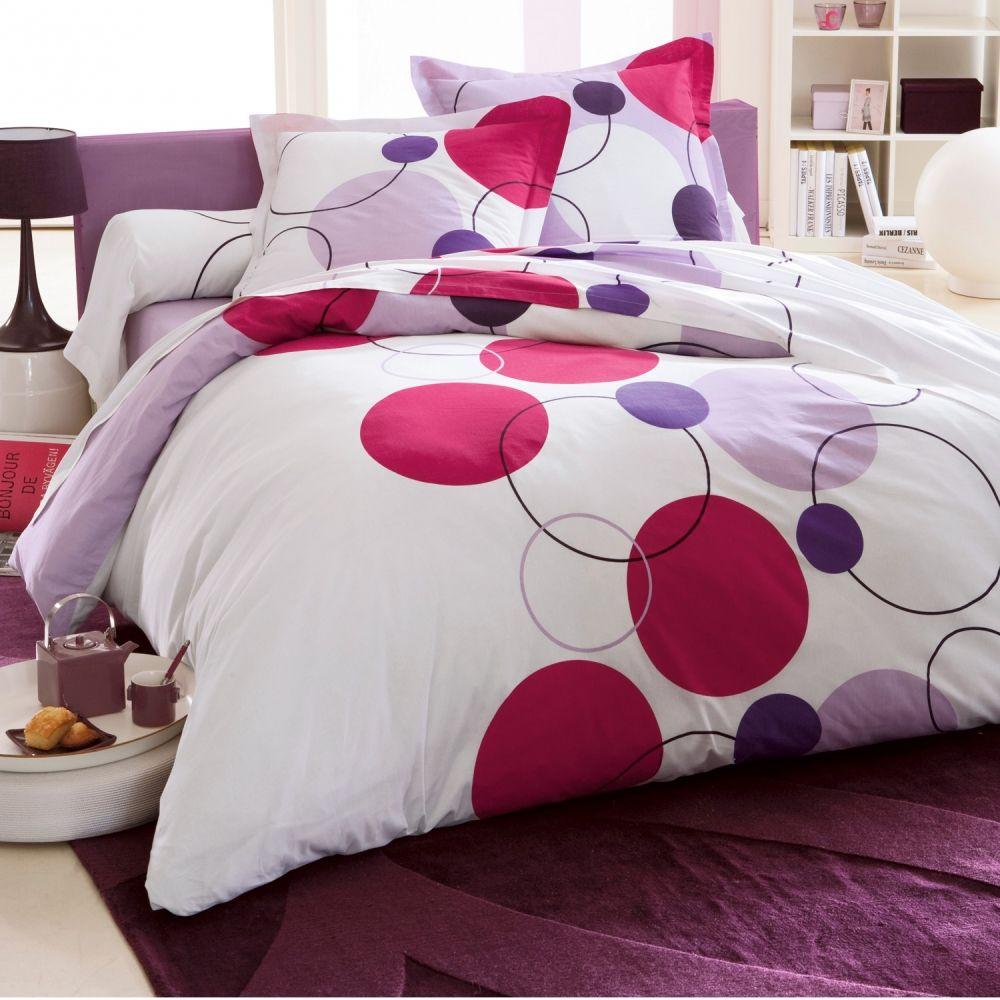 Linge De Lit Bulles Polyester Coton Colombine Blancheporte Bed Home Bedroom