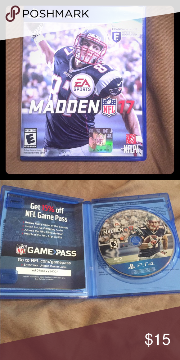 Madden 17 For Ps Game Other