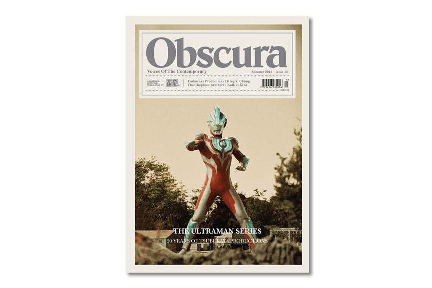 Obscura Magazine 2013 Summer Issue 13 & Blackbird Vol. 01