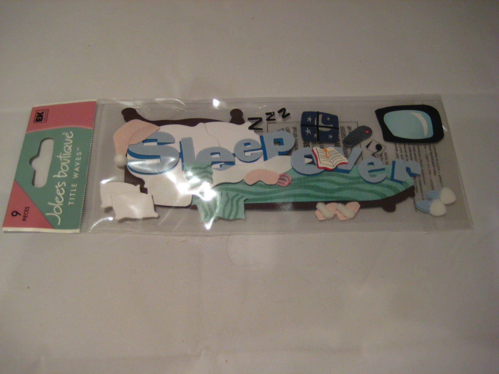 """Jolee/'s Boutique /""""Bowling/"""" 6 pcs Dimensional Stickers #T3"""