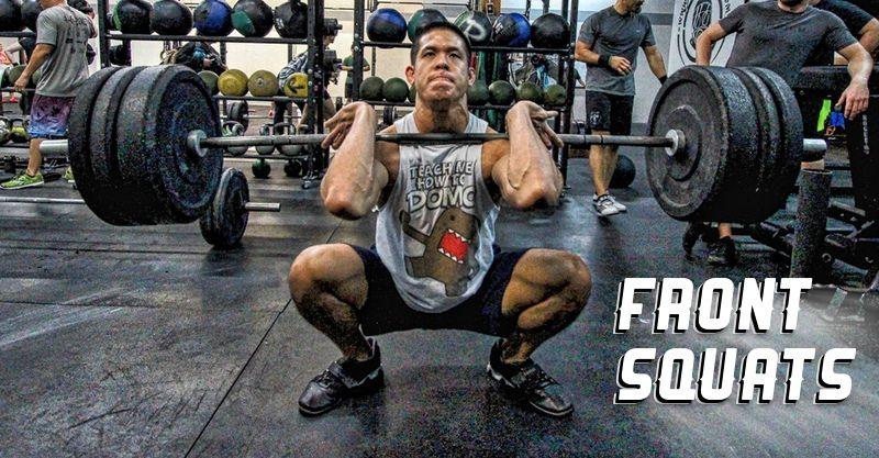 Pick Up the Bar! Front Squats Front squat, Squats, Back