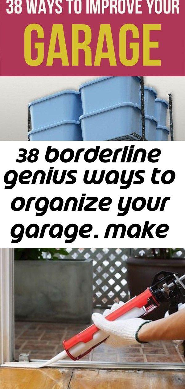 38 Borderline Genius Ways To Organize Your Garage  Make