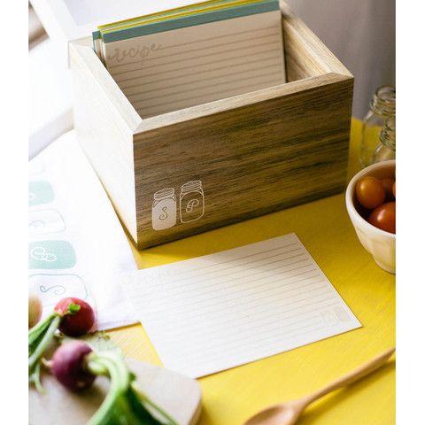 Kitchen Traditions Recipe Box