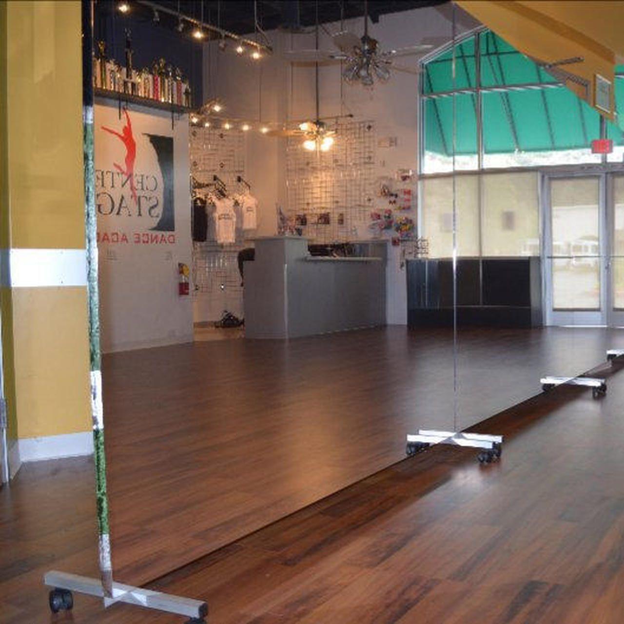 Glassless Rolling Dance Mirrors In 2020 Dance Rooms Dance Mirrors Dance Studio Design