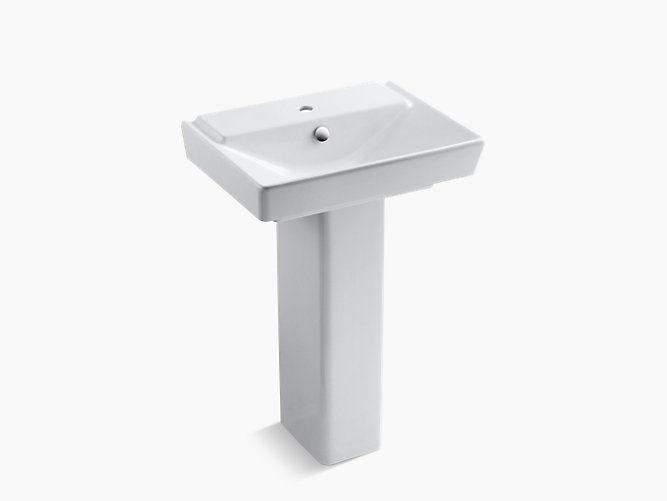 armaturen im badezimmer waschbecken badezimmer ideen wasserhhne sockel broadway bergman basins the bold - Kohler Waschbecken Armaturen