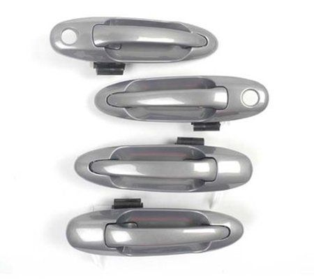 Ds251 Thunder Gray Metallic 1c7 00 07 Toyota Tundra Sequoia Set 4pcs Outside Door Handle 00 01 02 03 04 05 06 07 Motorking Toyota Tundra Door Handles Tundra