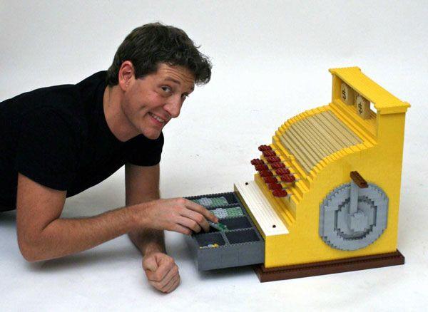 Cash Register — Nathan Sawaya — The Art of the Brick   Legos ...