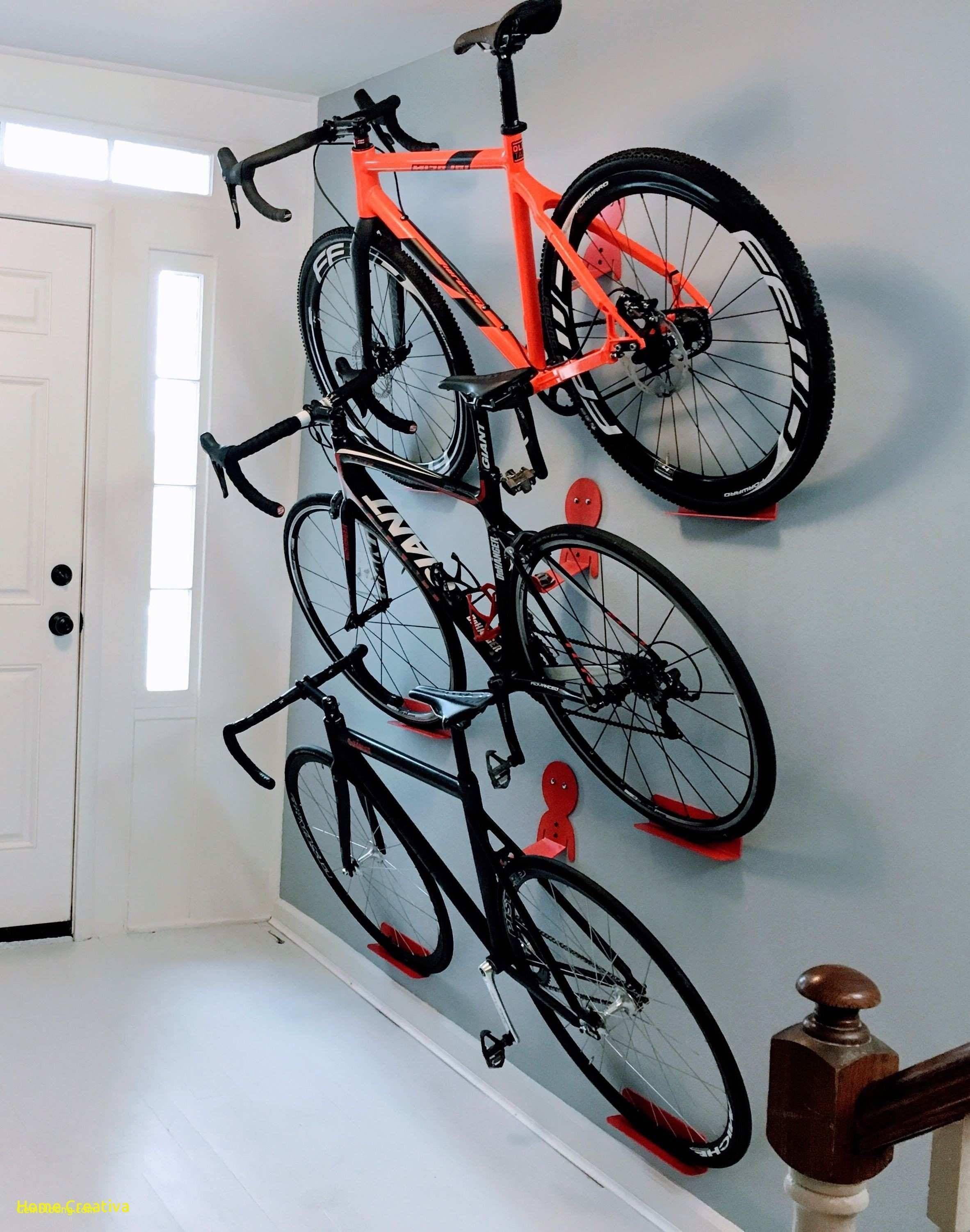 Diy Wall Mount Bike Repair Stand Rangement Velo Garage Accroche