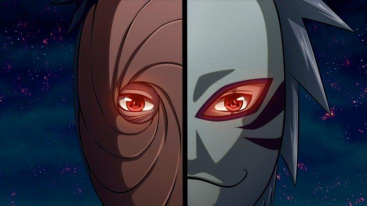 Anbu Mask Sharingan Eyes Kakashi Uchiha Obito Tobi Kyuubi Sharingan Wallpapers Kakashi Mangekyou Sharingan
