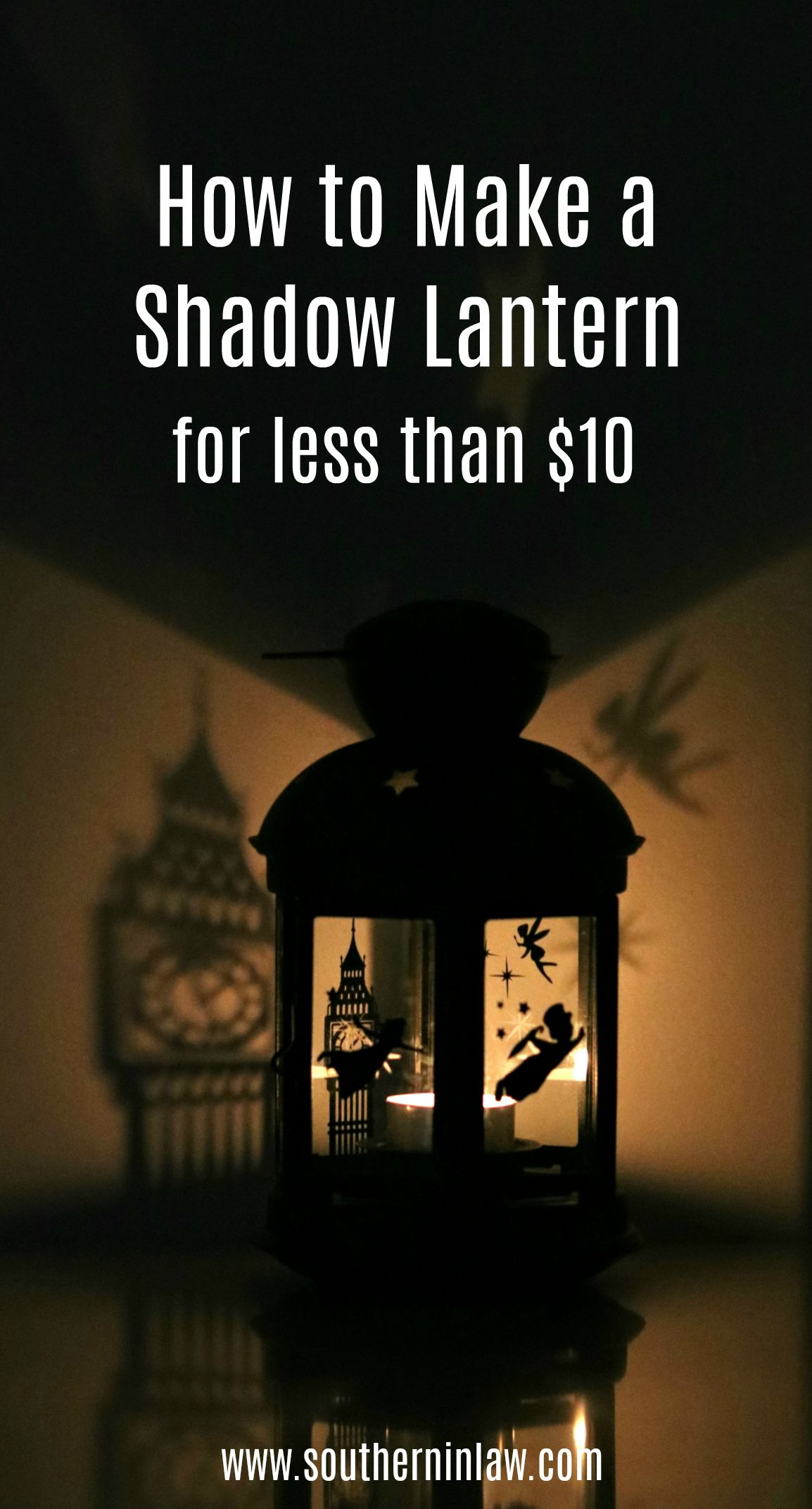 Photo of How to Make a Shadow Lantern (DIY Disney Peter Pan Lantern Tutorial on a Budget!)