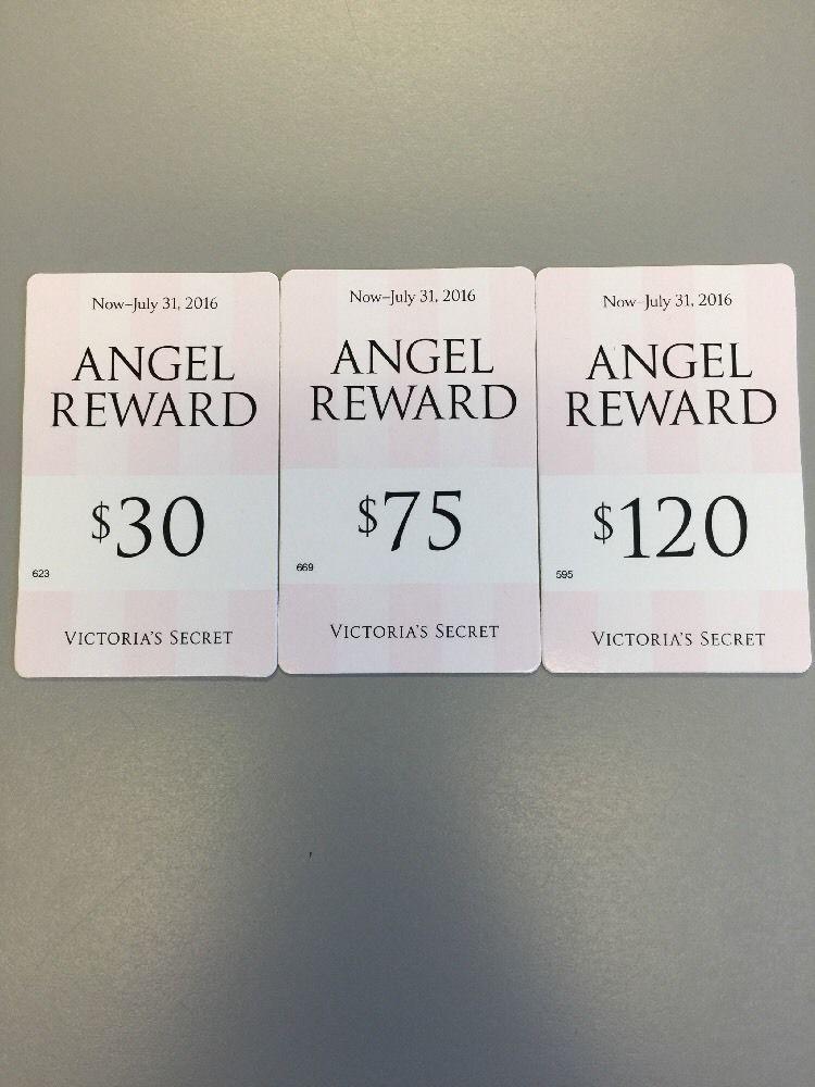 Victoria's Secret Angel Reward Card $225 Value Use in store