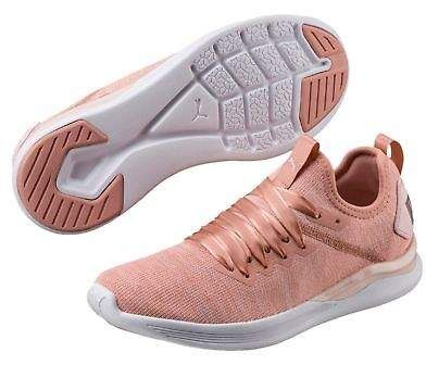 6a12877ede690e Puma IGNITE Flash evoKNIT Satin En Pointe Women s Sneakers