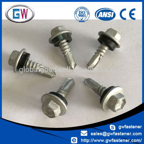 Factory In China Neoprene Washer Roofing Screw Roofing Screws Roofing Washer