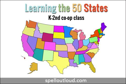 Learning the 50 States (K-2nd