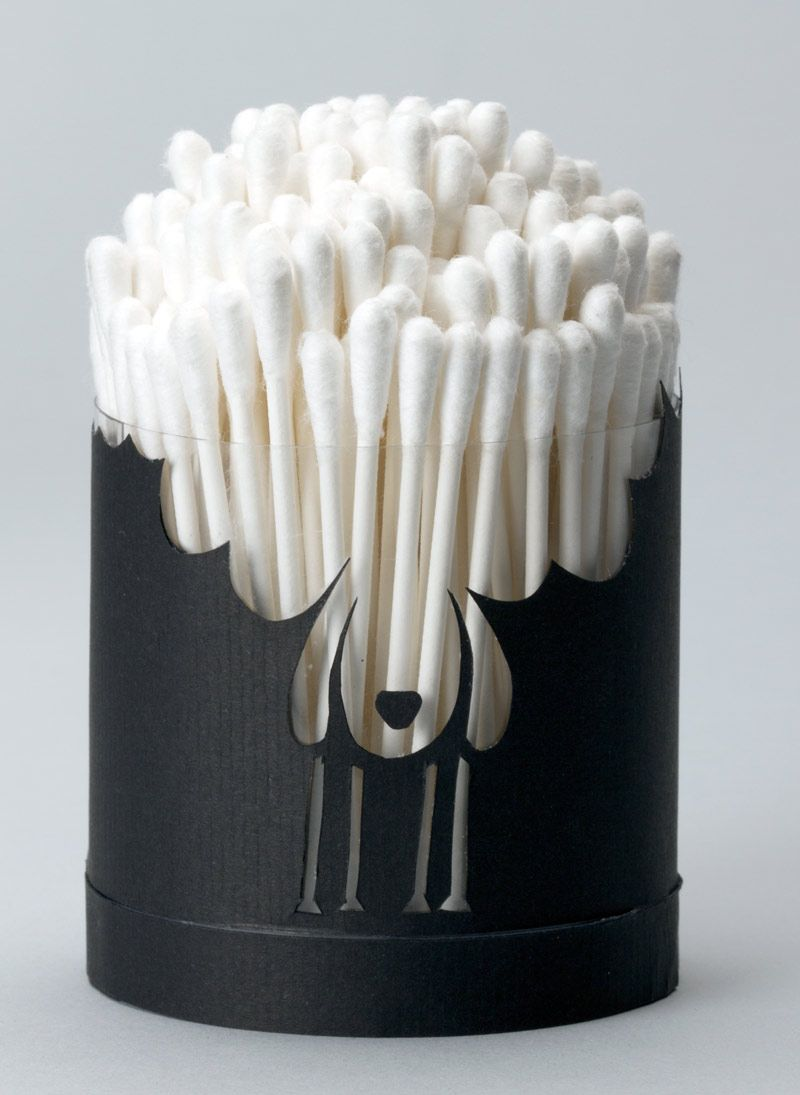 Fun guerilla packaging by Pierre-Emmanuel Lemaire #design #packaging http://www.arcreactions.com/