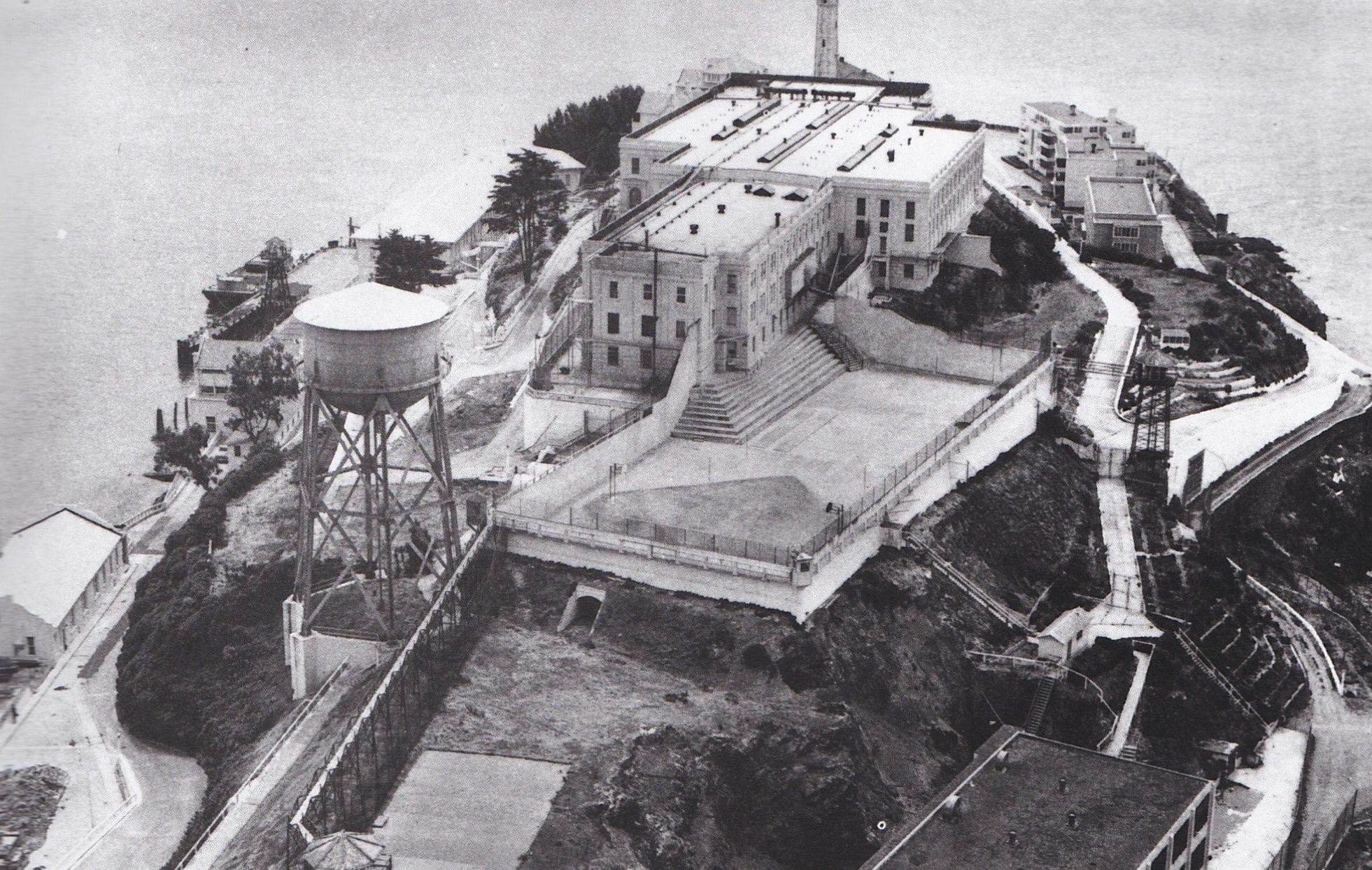 Work On The Present Cellhouse Began In 1909 After Alcatraz As