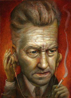 """Bureau Chief Gordon Cole"" by Chris Mars.  Twin Peaks."
