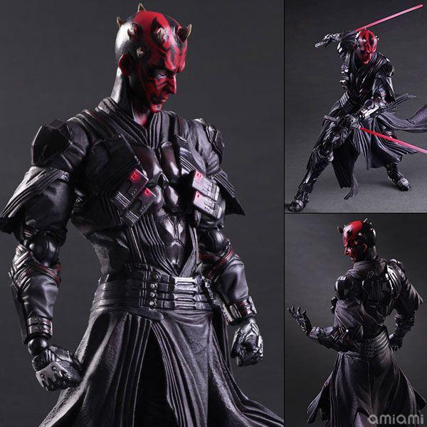 Star Wars Darth Maul Figure SquareEnix VARIANT Play Arts Kai Model New in Box