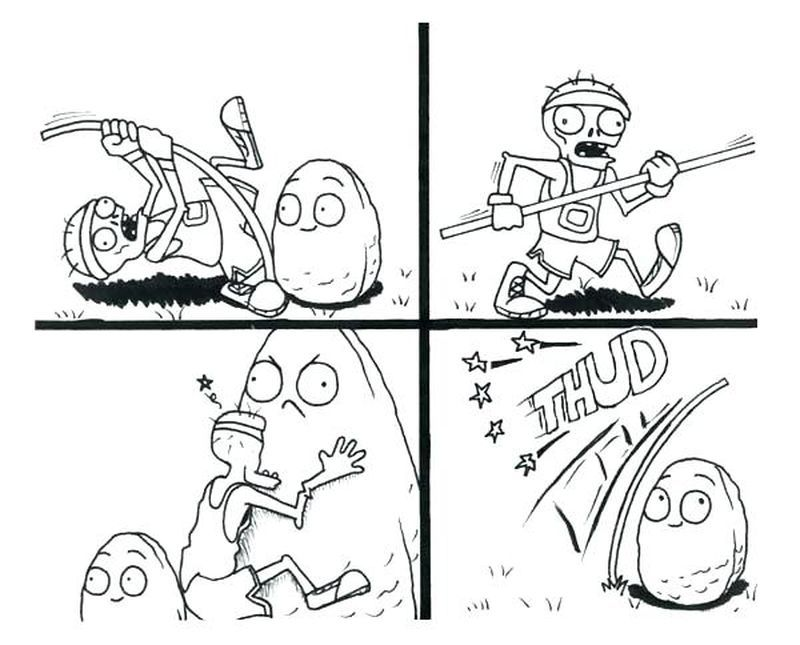 Plants Vs Zombies 2 Coloring Pages Peashooters Plants Vs Zombies Coloring Pages Coloring Pages To Print