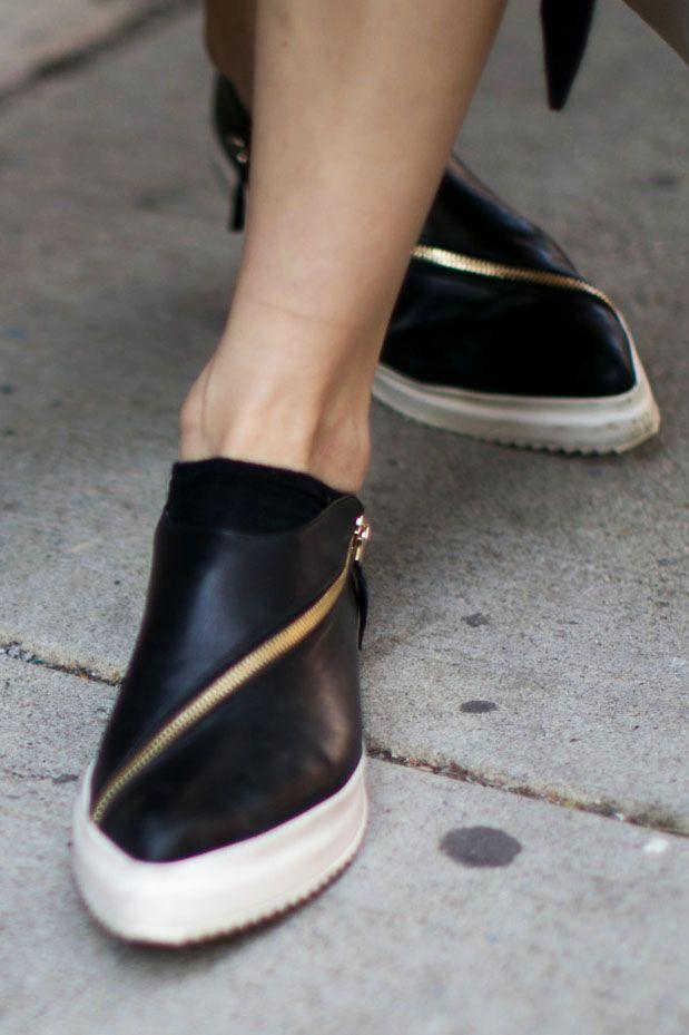 Jil Sander   ZIP SLIP-ON   Bag It   Pinterest   Shoes、Footwear、Fashion e3ae9829f3e