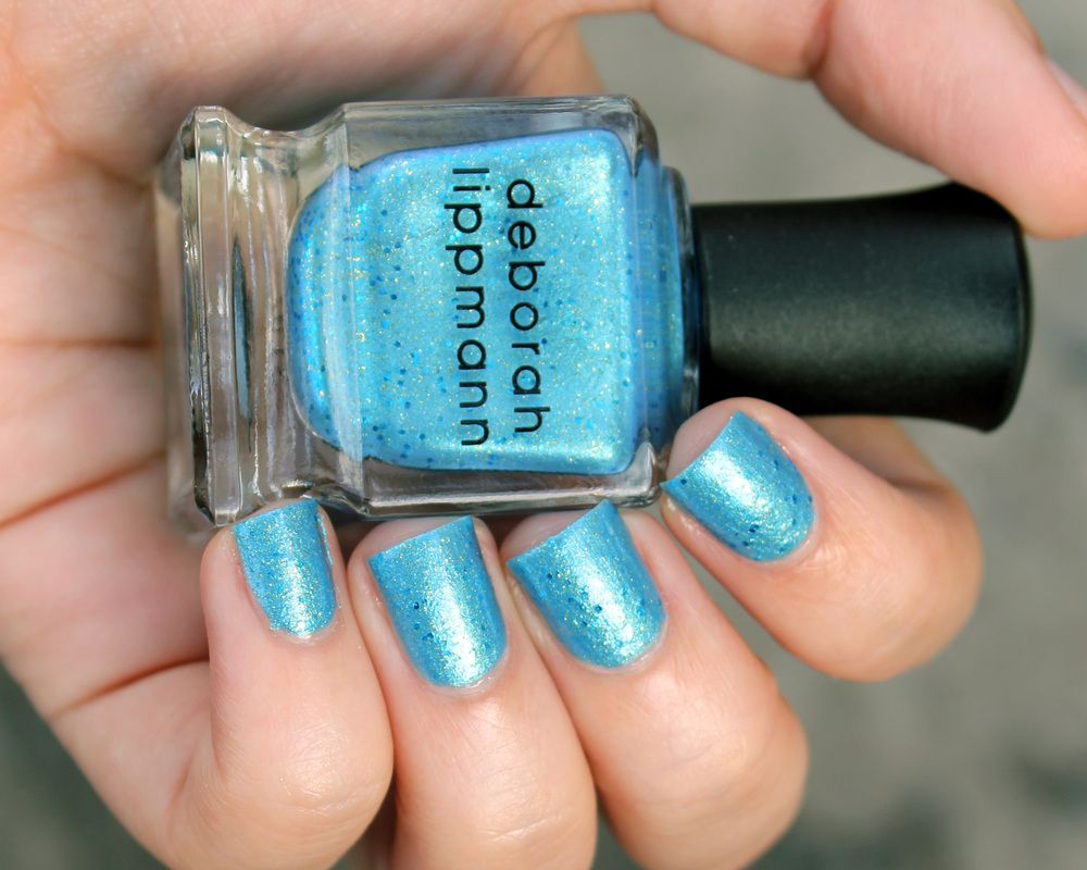 Deborah Lippmann Mermaid\'s Eyes | My Nails | Pinterest | Deborah ...