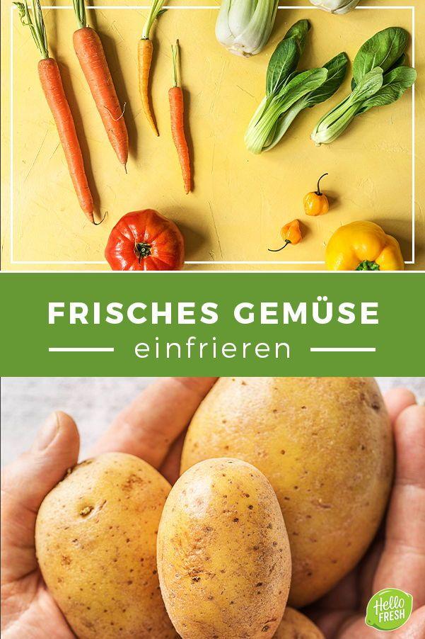 So gehts richtig: Gemüse einfrieren