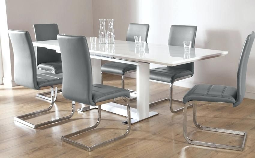 image result for extendable frosted glass dining table and on dining room sets on clearance id=95825