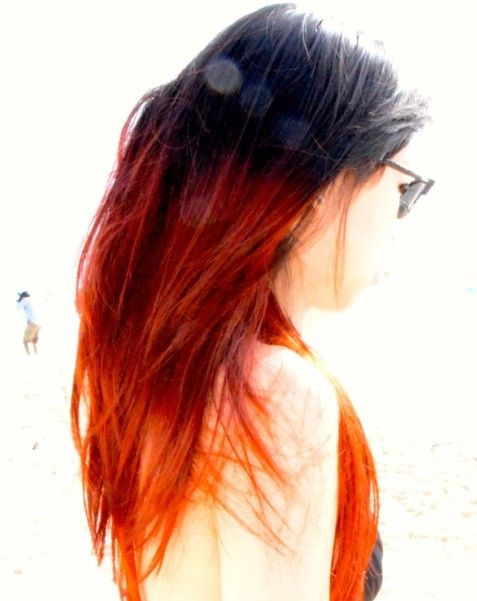 Hair Color Trends For 2021 Red Ombre Hairstyles Pretty Designs Hair Styles Ombre Hair Orange Ombre Hair
