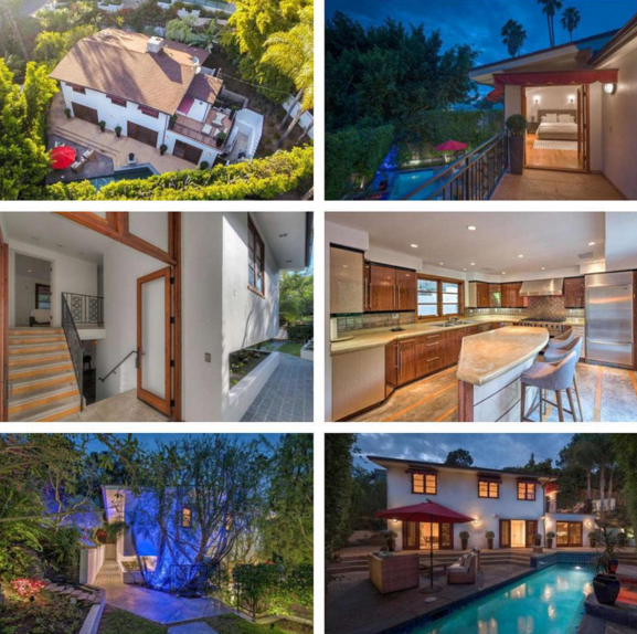 1744 North Ogden Dr Los Angeles Perfect Entertainer S Oasis In The Lower Hollywood Hills Agents Monty Abramov And House Styles Hollywood Hills New Property