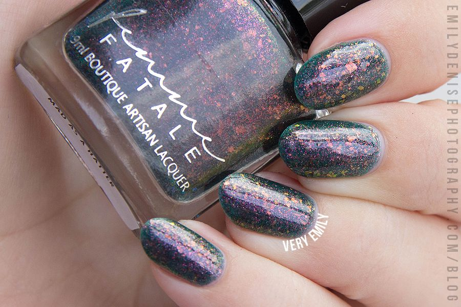 Femme Fatale – Mad as a Hatter | Nails/Fingers△ | Pinterest | Nails ...